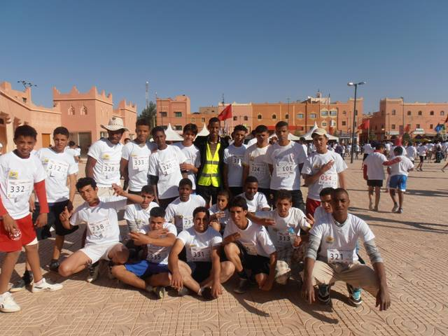 Sport: Participation à la course sur la route a Kelâa Megouna 2013