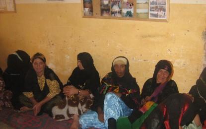 Rencotre avec les femmes du village
