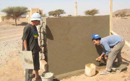 Environnement: chantier en collaboration avec le corps de la paix