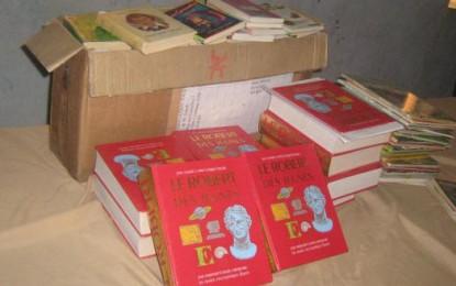 Education: Enrichissement de la bibliothèque du collège IBN KHALDOUN