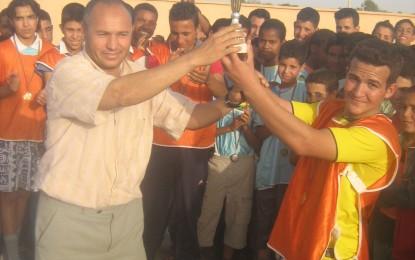 Sport: Aide au tournoi interclasse de mini-foot du collège IBN KHALDOUN