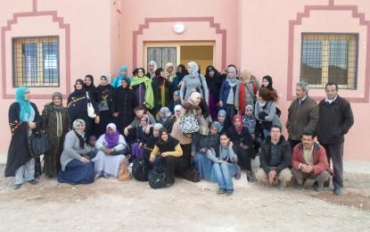 Echange: Accueil des femmes de l'association Tamghart n oudrar – région Marakech