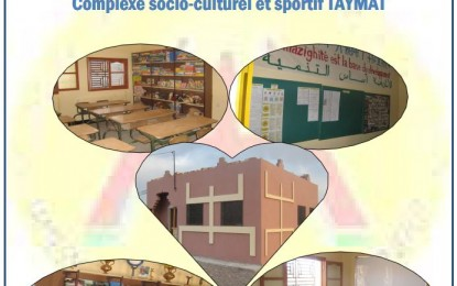 Projet complexe socio-culturel et sportif TAYMAT a téléchargé en PDF