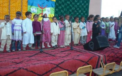 enfants de la garderie de Taymat au festival lalla mimouna  2012 à Mssici