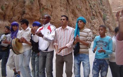 Visite de l'egorge de Toudgha le 29/04/2010