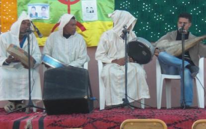 Said ZZAJ jeune talent du village au festival lalla mimouna 2012 à Mssici