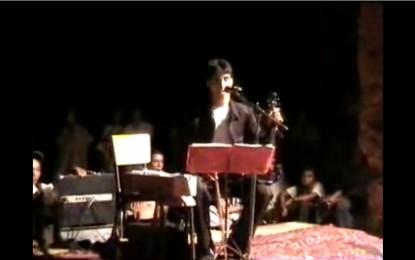 Musique: Hammou AGGOURAN à la soirée de TAYMAT
