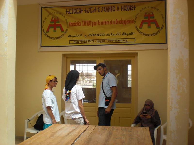Accueil de la caravane «Touda Khatoune»