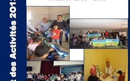Rapport des activités de l'association Taymat pour 2013/2015 à Télécharger en PDF