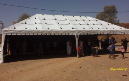 Achat d'une grande tente pour les fêtes et les cérémonies