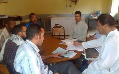 Participation a la fondation de la fédération des associations d'Alnif