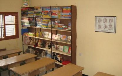 Partenariat avec L'association TIWIZI: Création d'une bibliothèque et soutien a la garderie