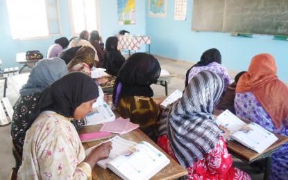 Alphabétisation: Partenariat avec la délégation de l'éducation national
